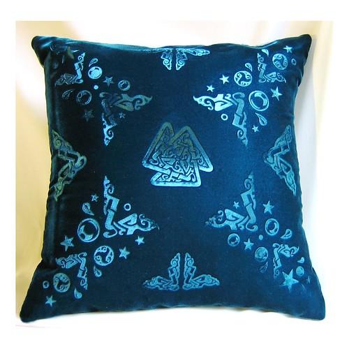 Embossed Velvet Pillow Cover