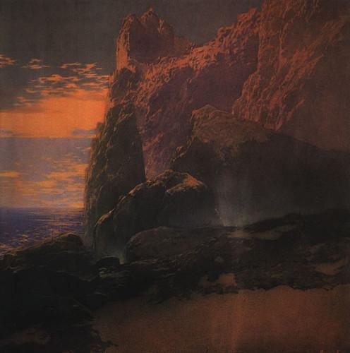 026-La Tempestad 1909 pintura al oleo fuente- CGFA