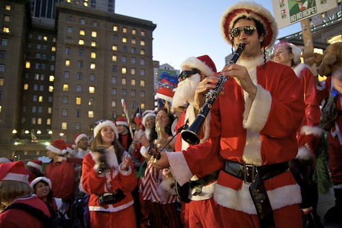 Santacon by davegolden.