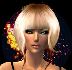 Watch out, I'm gonna brighten your night... (┌Sarah♫Leamey┐) Tags: hair blonde roleplay amae sparles newhelena
