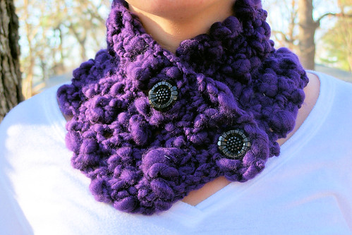 Chunky Lace Crochet Scarf Pattern from SweaterBabe.com