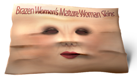 sl dimensions mature woman skin