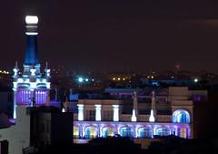 Edificio iluminado (clausmatron) Tags: madrid espaa spain cba crculodebellasartes upcoming:event=1461983 kddazoteacirculo