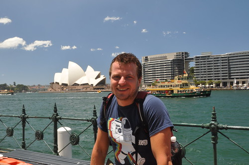 Sydney - Chris @ Opera House