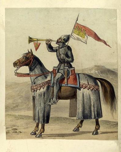 002-Pendonista de mesnada siglos VIII al XI (año 1050)