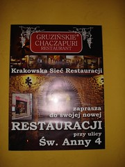 Georgian Restaurant, Cracow