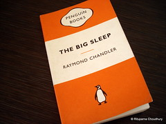 17 Feb 09 The Big Sleep by Raymond Chandler (black_coffee_blue_jeans) Tags: fiction reading book big reader sleep review books bookshelf hobby read shelf crime cover pulpfiction marlowe covers raymond pulp bookcover hobbies chandler bookshelves shelves philip bookcovers reviews detective thebigsleep bookreview bookreviews raymondchandler philipmarlowe crimefiction