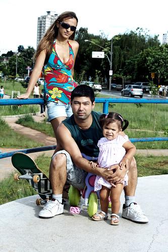 Fernando Arata e Família