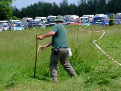 practice (Charlie Allery) Tags: festival scythe