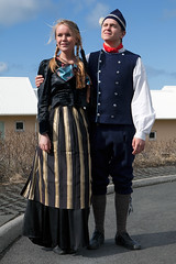dresses (sigrun th) Tags: costumes portrait dress pair awesome traditional icelandic