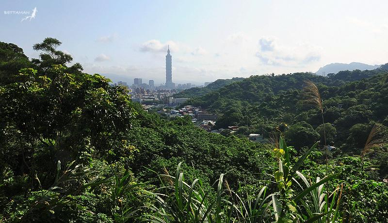 100517 台北 芳蘭山 東北望視野
