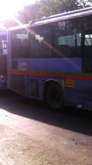 Magathane owned Cerita2 with JnNURM fake stickers on AS-524 at Vashi Bus Station! (Ojas Buses) Tags: bus buses best mumbai cerita citybus kinglong jnnurm
