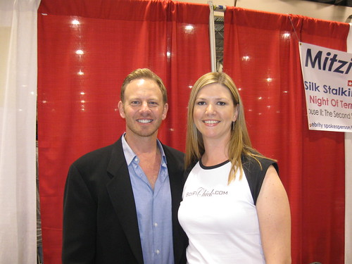 Ian Ziering and I