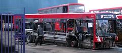 Carlton, Barnsley (Andrew Stopford) Tags: carlton wright stagecoach scania eastlondon pathfinder barnsley geoffripley n113crl rdz6124
