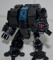 Warhammer 40K Dreadnought - Re-design (IcedPlusCoffee) Tags: marine lego space 40k warhammer warhammer40k moc dreadnought wh40k spacemarine