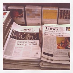 InTRANSIT Festival newspaper (RBKC Culture) Tags: arts kensingtonandchelsea intransitfestival kensingtoncentrallibrary