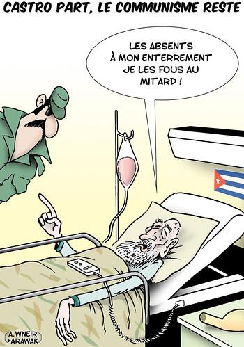 Castro s'en va le communisme reste