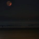 Partial Eclipse above the North Sea