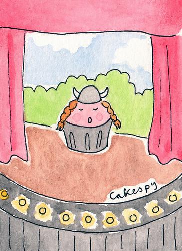 Fat Cupcake sings