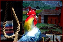 """Rooster's last minutes (Jerzy Durczak (a.k.a."""" jurek d."""")) Tags: bird death killing suicide cock rope hanging rooster gallows execution jurekd"""