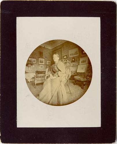 Woman in Interior - Original/No. 1 Kodak Print