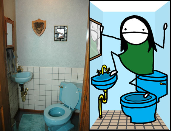 bathroom-art