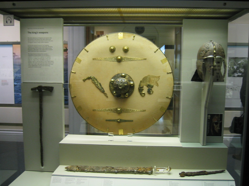 Sutton Hoo Weapons