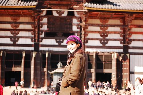Takae-chan at Todaiji