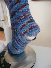 worn out sea sock
