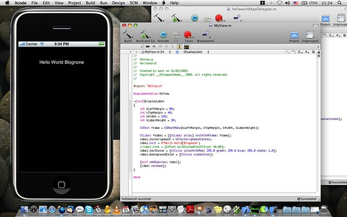 First iPhone App