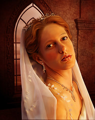 Regal queen (amiehiggs) Tags: art digital painting paint royal smudge queen royalty paintover