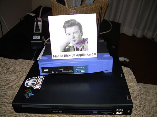 Mobile Rickroll Appliance 6.0