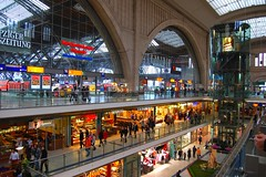 Leipzig, Germany: The central station (Tobi_2008) Tags: city germany deutschland town bahnhof leipzig railwaystation hauptbahnhof sachsen stadt shoppingcenter allemagne soe ville germania einkaufszentrum supershot platinumphoto anawesomeshot superbmasterpiece diamondclassphotographer ysplix