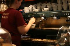 drink prep - caffe nero