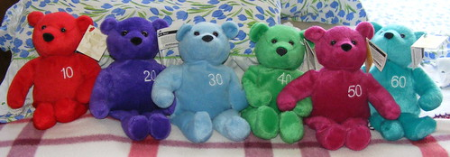 Day 143/366 - my NutriSystem weight loss bears