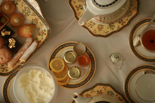 afternoon tea composition (by mintyfreshflavor)