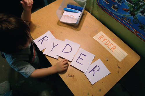 "Learning ""HIS"" Letters"