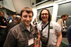 Matt and Adam (misterbisson) Tags: matthewbatchelder adamlindsay roflcon roflcon2008 lolcode