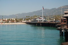 View of Santa Barbara from the Wharf