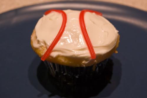 Baseball Cupcake!