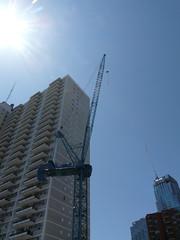 cranes (Rupert Affen) Tags: toronto building cranes eglinton condos
