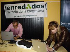 JJ y Sonia Blanco Preparando Enredados