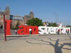 I amsterdam na Museumplein