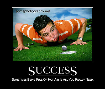 Success  - de Motivational Poster - Golf Photo, Motivational posters, Art Funny Frame Demotivational Posters.