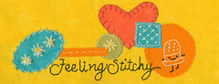 Feeling Stitchy banner popart