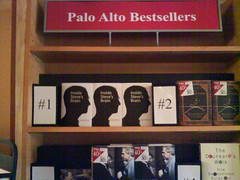 Number ONE in Palo Alto's bookstore