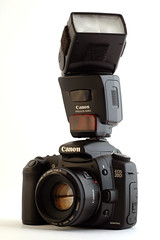Camera With External Flash