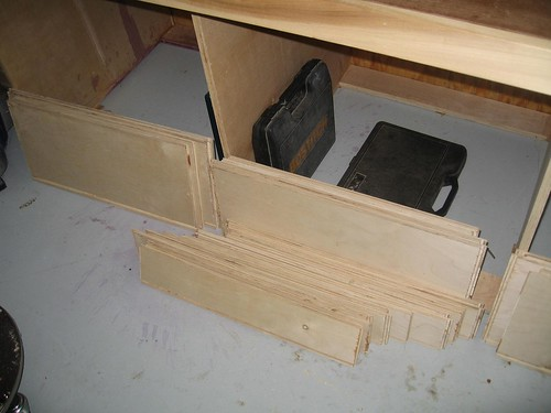 Drawer Fronts/Backs/Sides