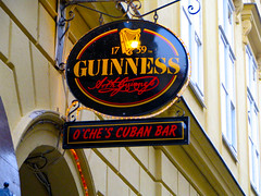 Prague - O'Che's Cuban Irish Bar (timinbrisneyland) Tags: