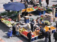 """Market in the Plaza • <a style=""""font-size:0.8em;"""" href=""""http://www.flickr.com/photos/48277923@N00/2622157971/"""" target=""""_blank"""">View on Flickr</a>"""